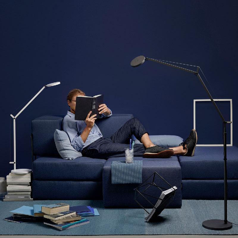 lampada a piantana DEMETRA Reading