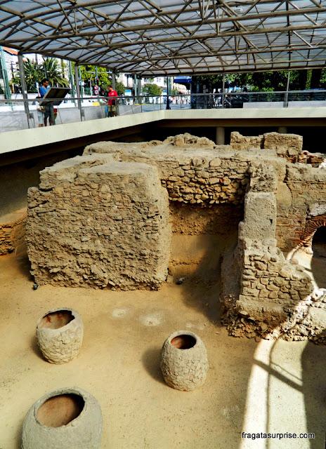 Vestígios arqueológicos em Atenas, Grécia