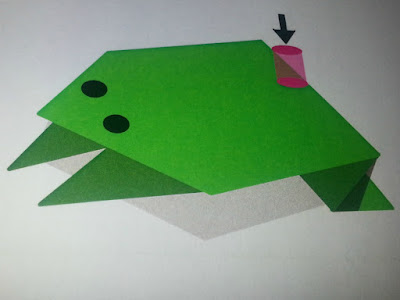 Origami Toad