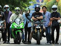 Sunmori Gabungan Bikers di Lampung Sukses Digelar