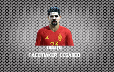 PES 2013 New Face & Hair Nolito by Facemaker Cesareo