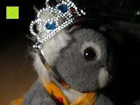 Diadem tragen Seite: Prinzessin Kostüm Karneval Verkleidung Party Cosplay Handschuhe Zauberstab