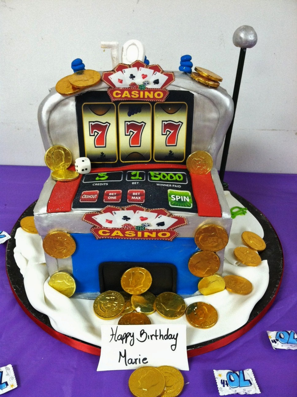 Slot Machine Cakes