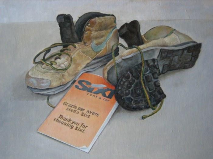 Французский художник. Alain Bazard