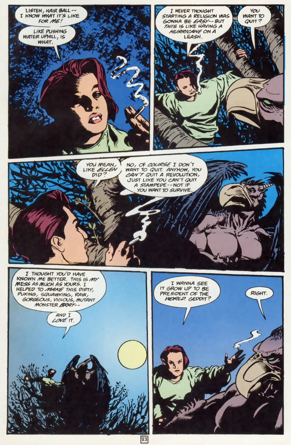 Read online Animal Man (1988) comic -  Issue #75 - 24