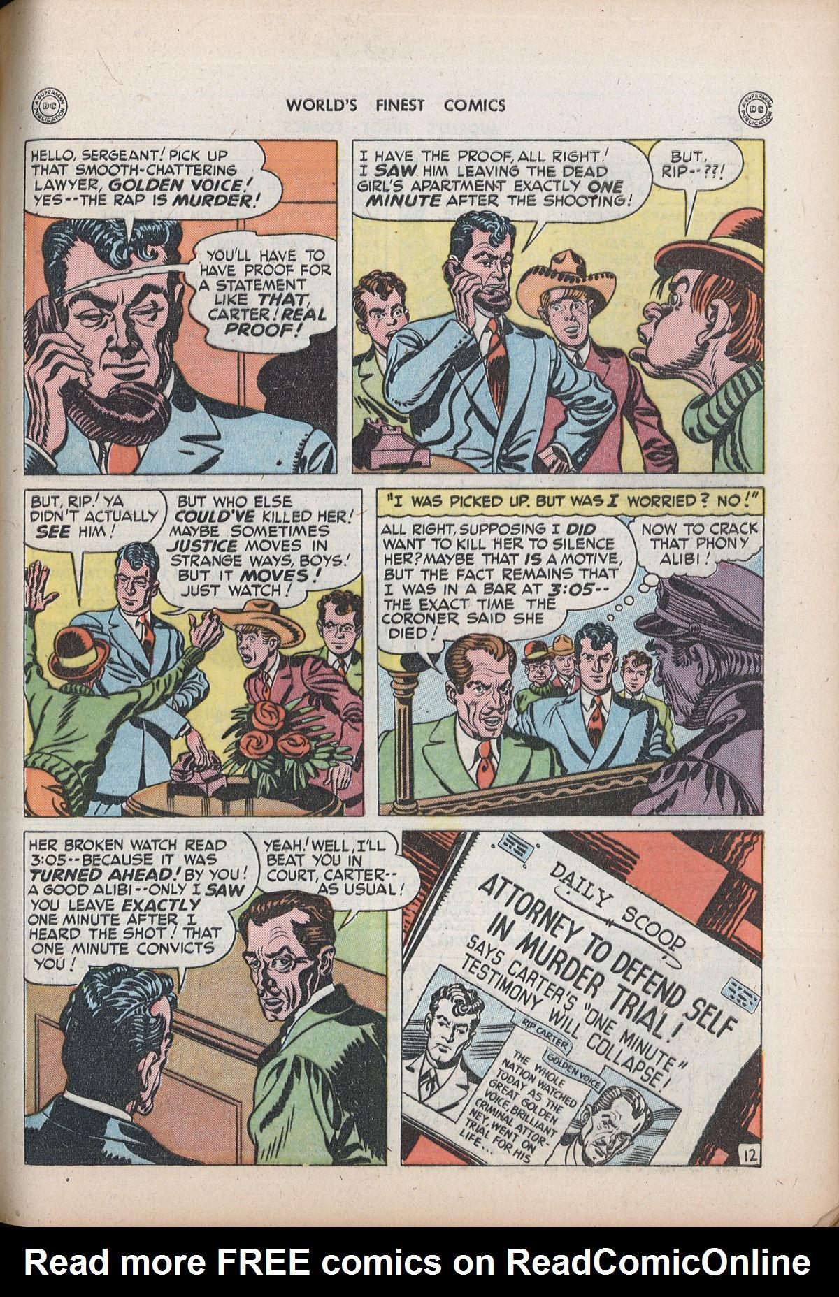 Read online World's Finest Comics comic -  Issue #32 - 49