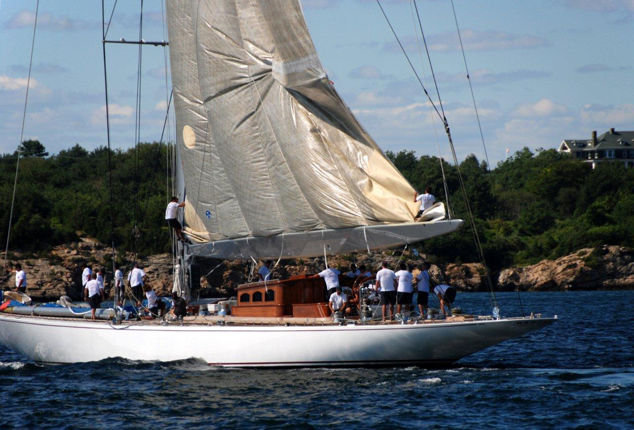 Sailing In Newport, RI: J-Boat Ranger