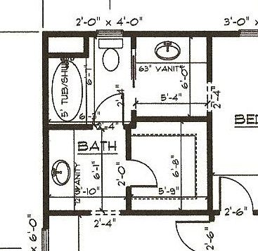 Our new home august 2012 - Jack and jill bathroom plans ...