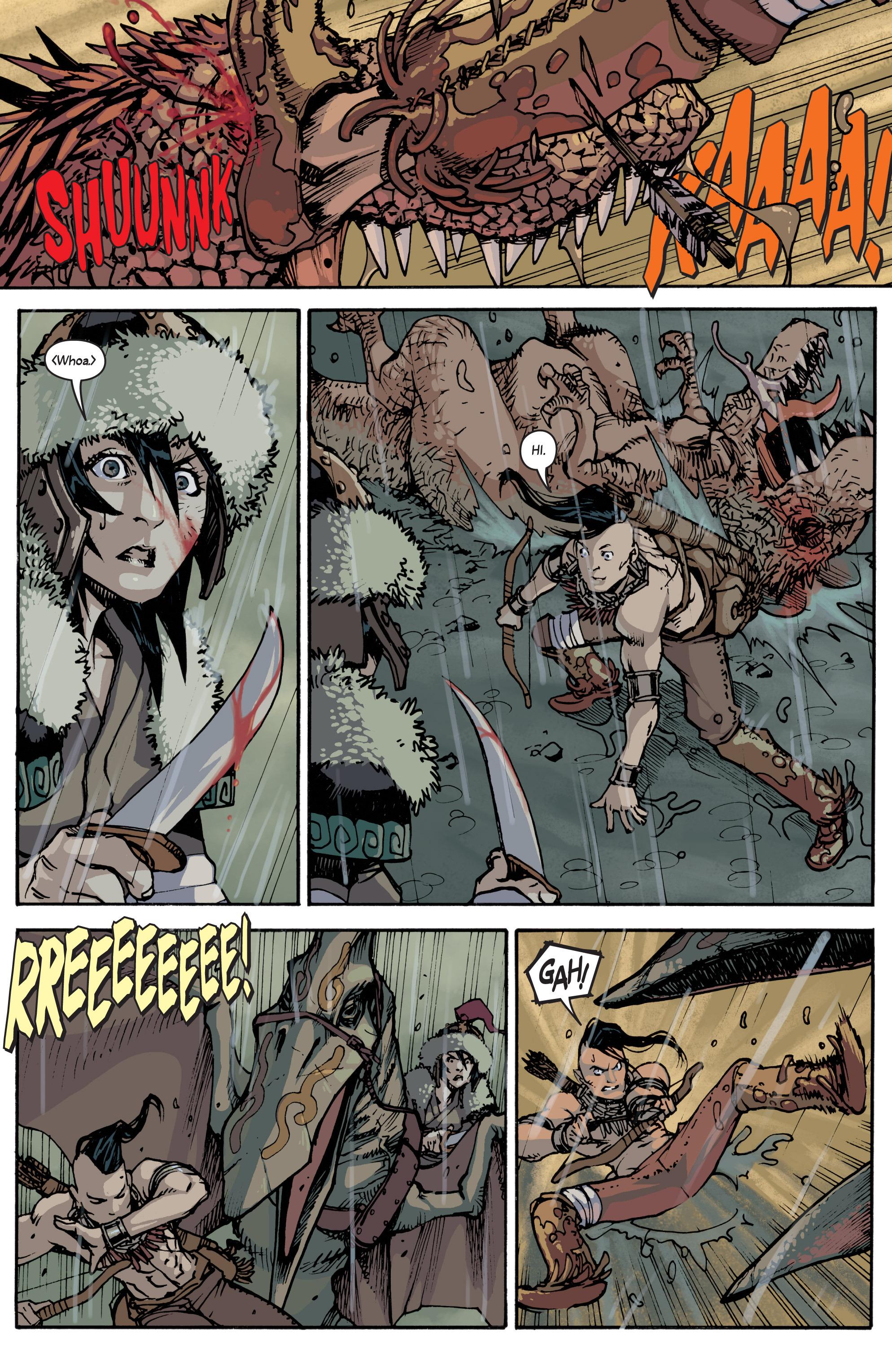 Read online Turok: Dinosaur Hunter (2014) comic -  Issue # _TPB 2 - 12