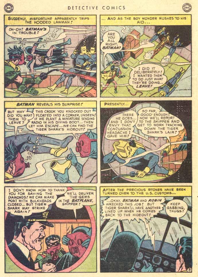 Read online Detective Comics (1937) comic -  Issue #147 - 10