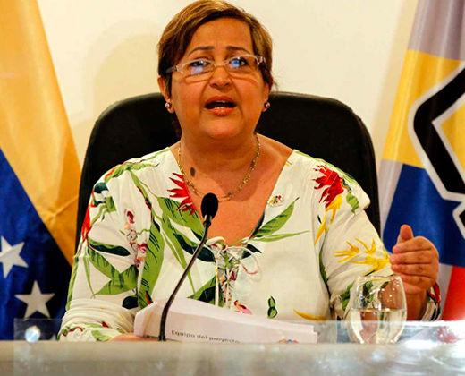 Tibisay Lucena posterga las regionales para finales del 1er semestre de 2017