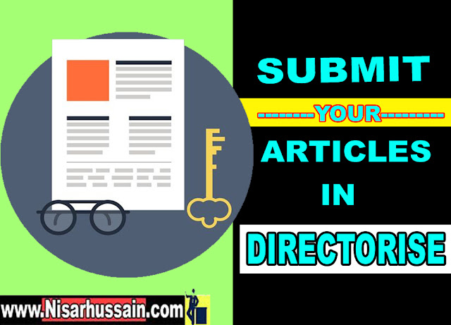 article directories - submit blog in articles submission http://www.nisarhussian.com/