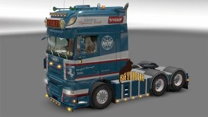 Wiesinger skin for DAF XF 105 truck by Stanley