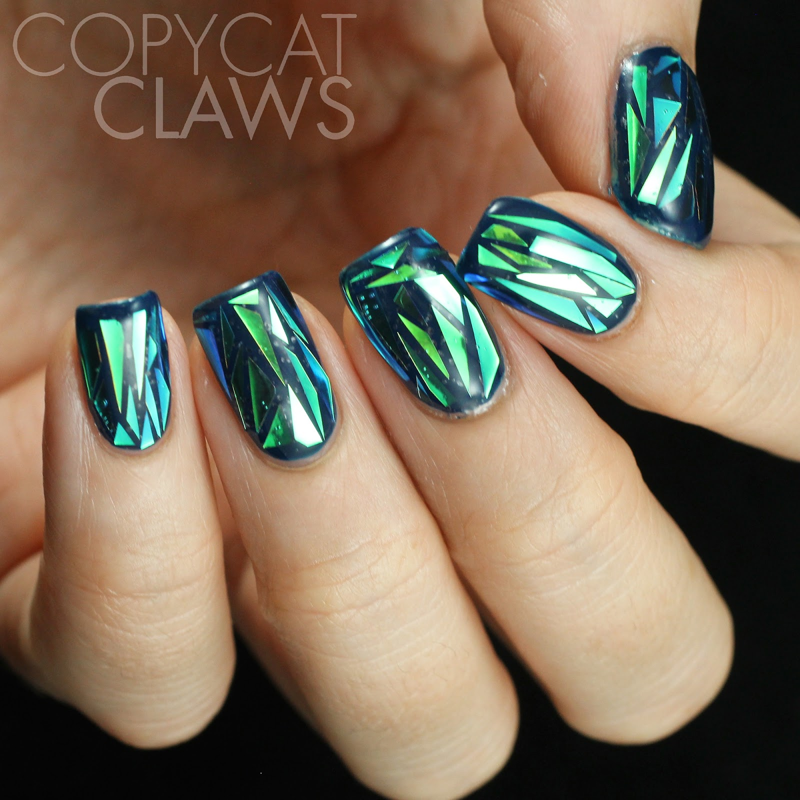Gl Shatter Nails Best Nail Designs 2018