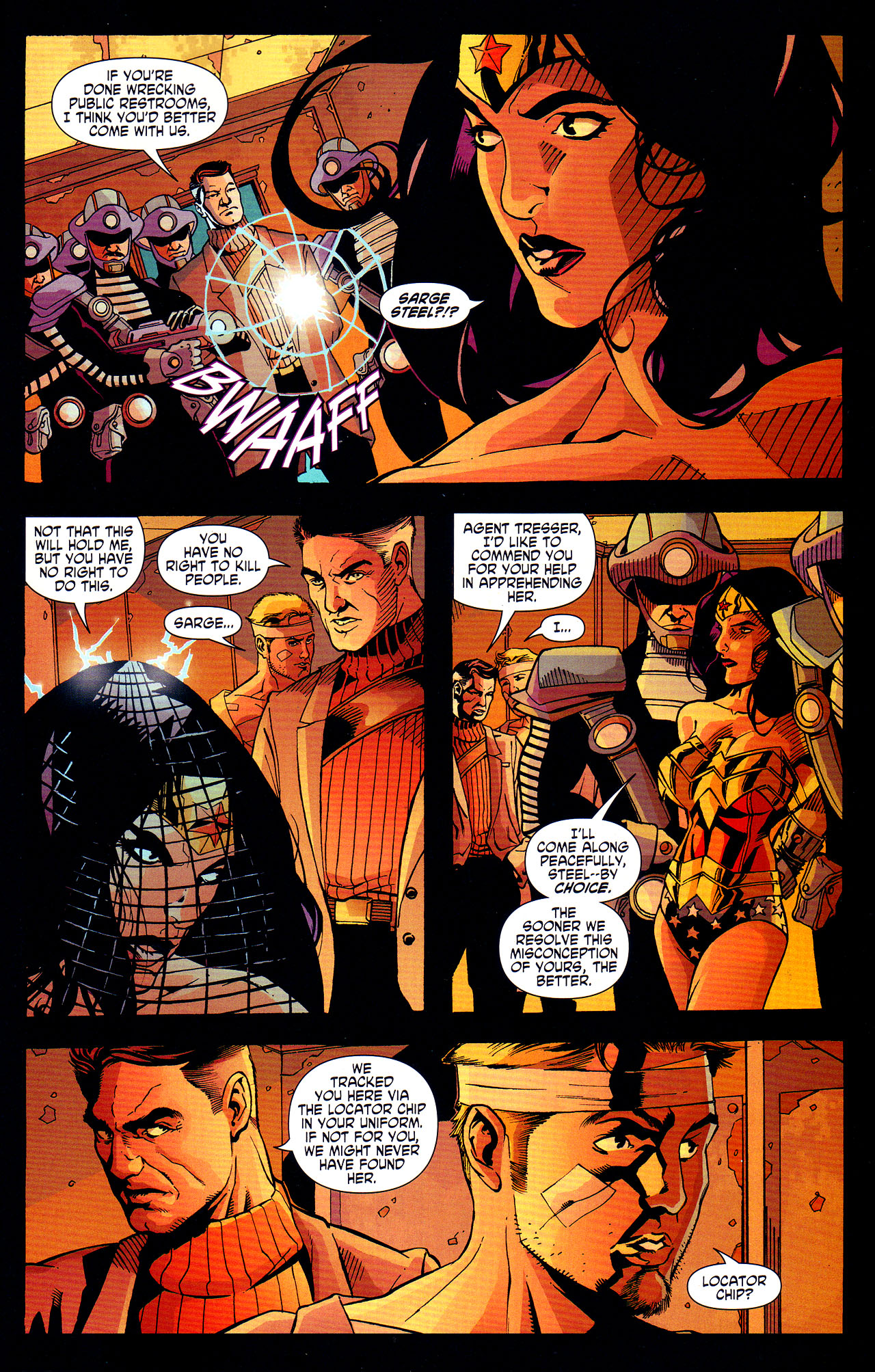 Read online Wonder Woman (2006) comic -  Issue #7 - 17