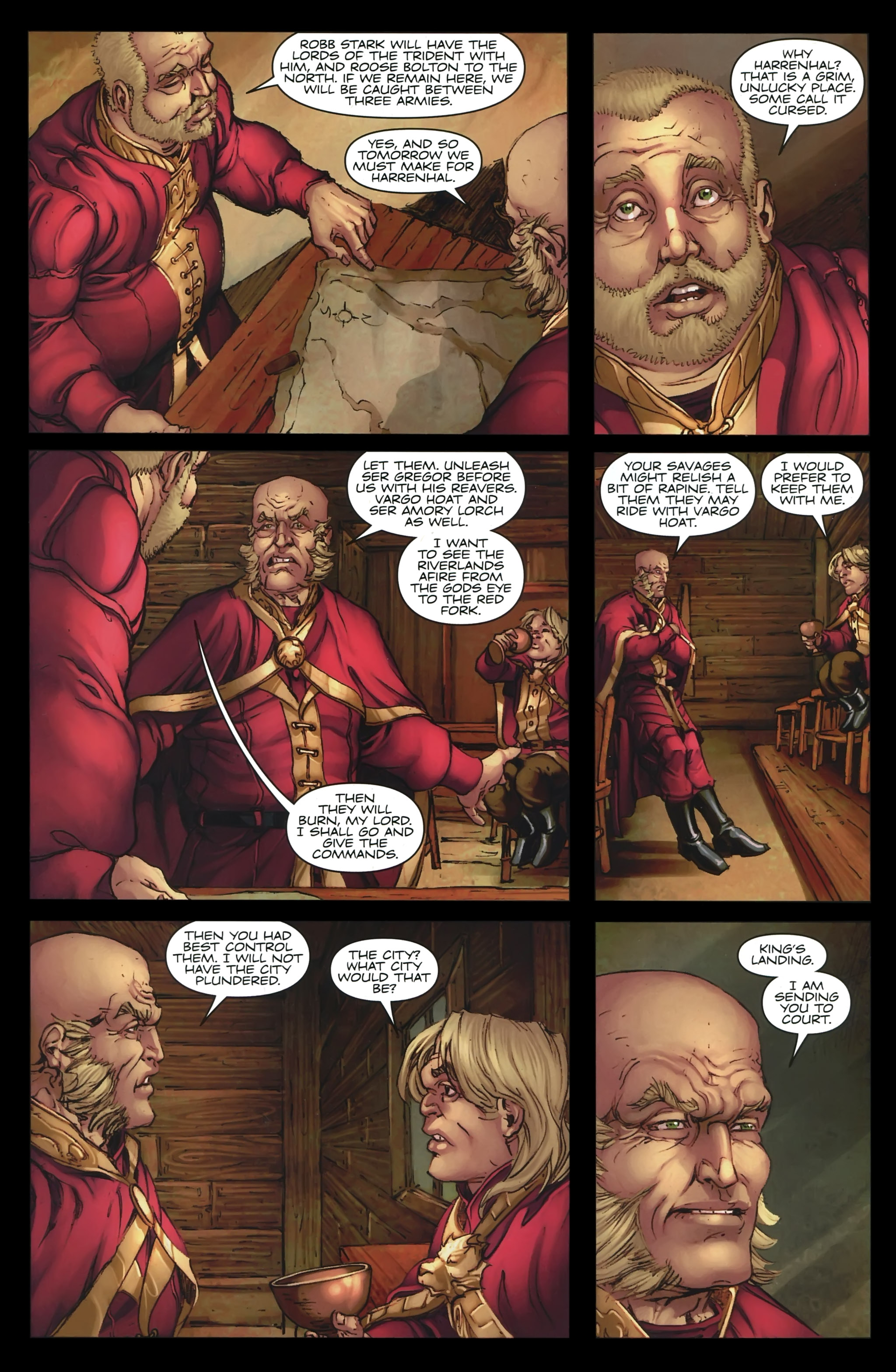 Read online A Game Of Thrones comic -  Issue #23 - 19