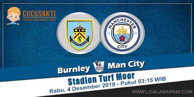 Prediksi Pertandingan Bola Burnley Vs Manchester City 04 Desember 2019