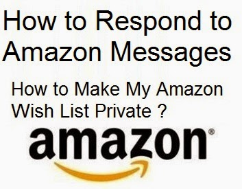 How to Respond to Amazon Messages : eAskme