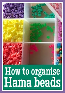 How to store and organise Hama beads