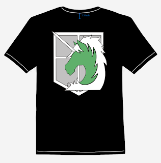 SNK - Royal Military Corps T-Shirt Design Back