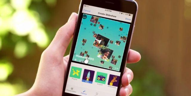 Testing Facebook Slideshow Feature