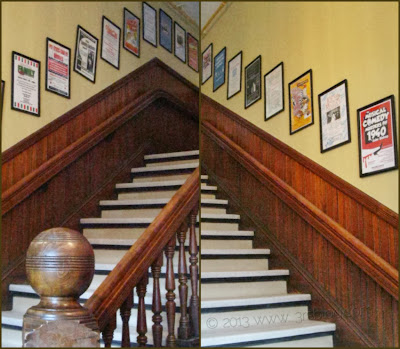 staircase angles collaged