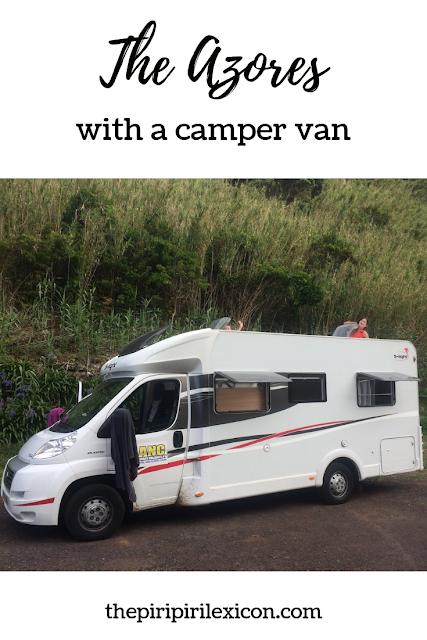 Azores with a camper van