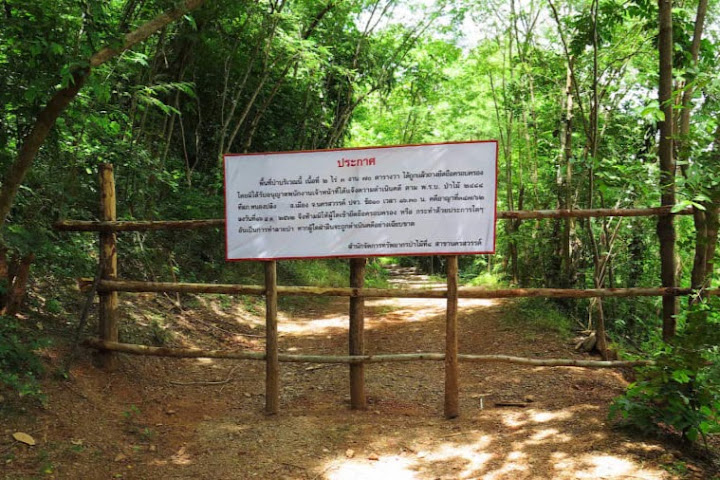 "Forbidden path: A well-trod path up the hill through a lush forest bursting with small butterflies, tamarind trees and other greenery now includes a wooden gate and big sign warning: ""No one is allowed to take over or do any activities which can result in destruction of the forest. If you trespass, legal action will be taken."" Defiant seekers walk around the gate."