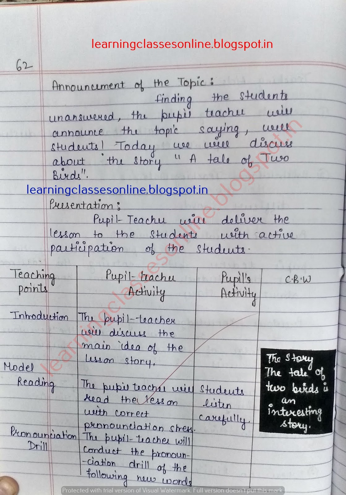 detailed lesson plan in english grade 4,