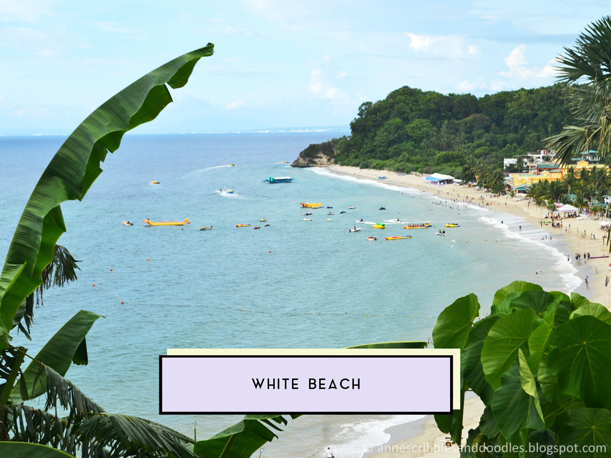 White Beach | 7 Must-See Places in Puerto Galera (Vlog, Itinerary, Budget, Where to Stay) | Anne's Scribbles and Doodles