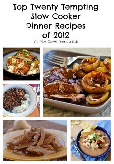 Top Twenty Tempting Slow Cooker Dinner Recipes of 2012