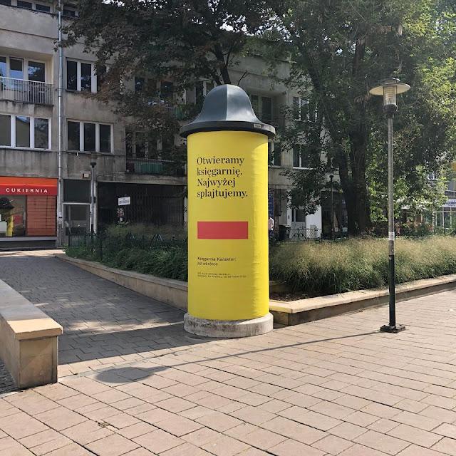 Miejsce z książką #2: Księgarnia Karakter w Krakowie