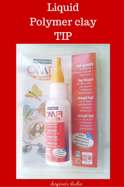 Liquid Polymer clay tip for fimo deco gel