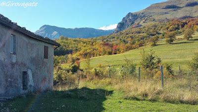 sentiero natura Garulla monti Sibillini
