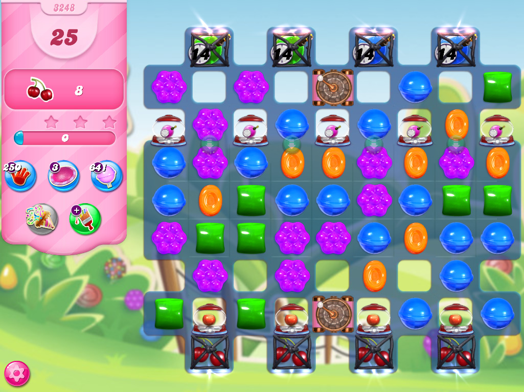 Candy Crush Saga level 3248