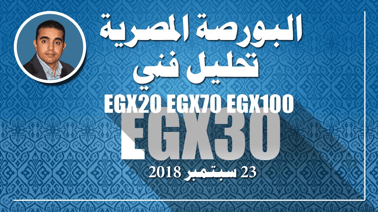 تحليل فني لمؤشرات البورصة المصرية ) EGX30 , EGX70 , EGX100 و EGX20 )