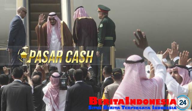 Raja Salman Habiskan 25 Miliar Perhari Selama di Bali