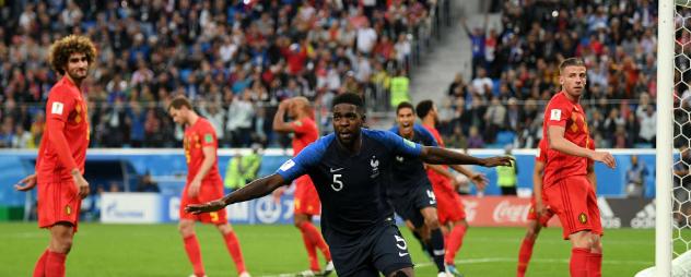 Video Highlight Perancis vs Belgia (1-0)