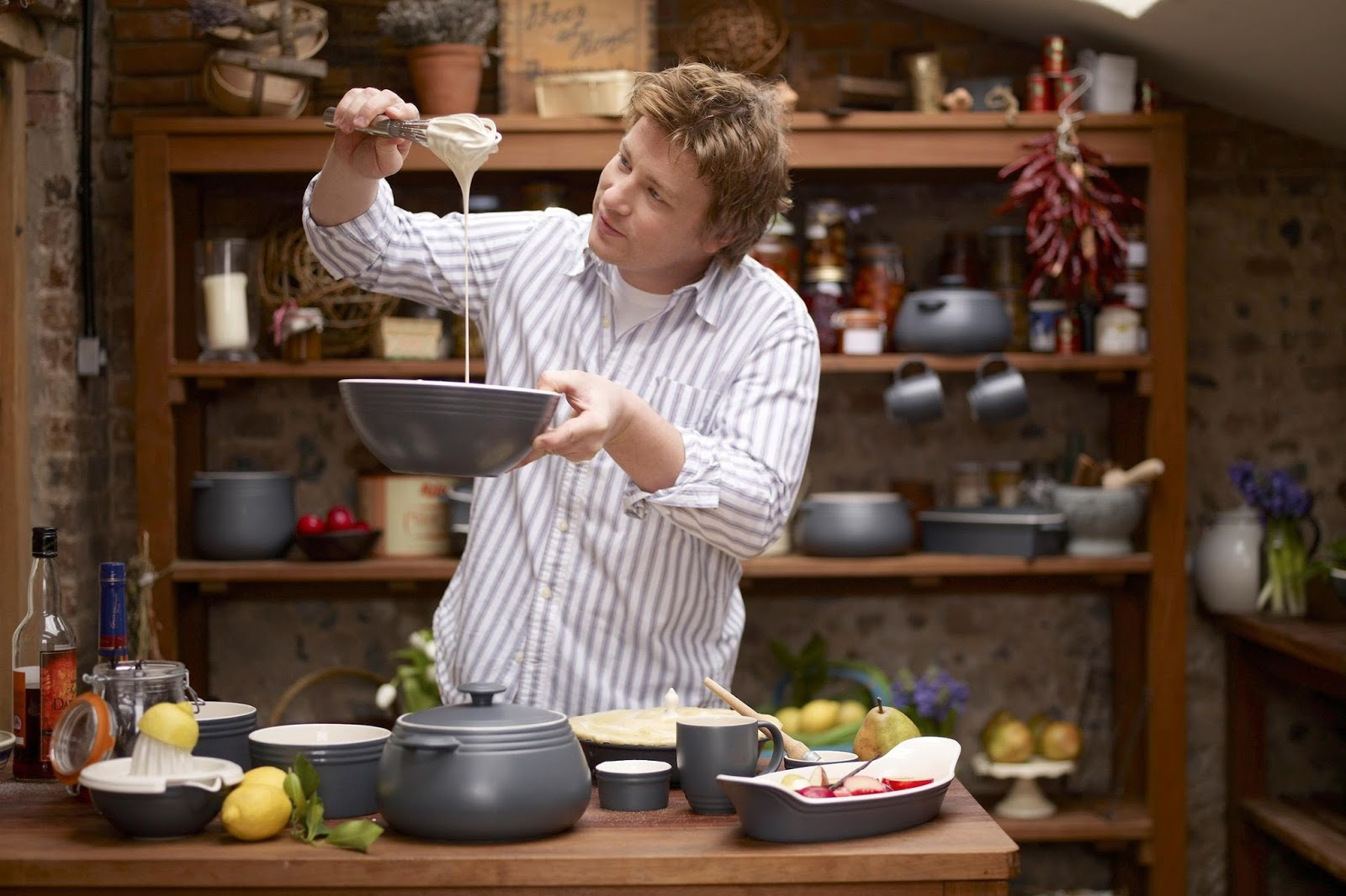 jamie oliver at home ep 4 gardening and cooking. Black Bedroom Furniture Sets. Home Design Ideas