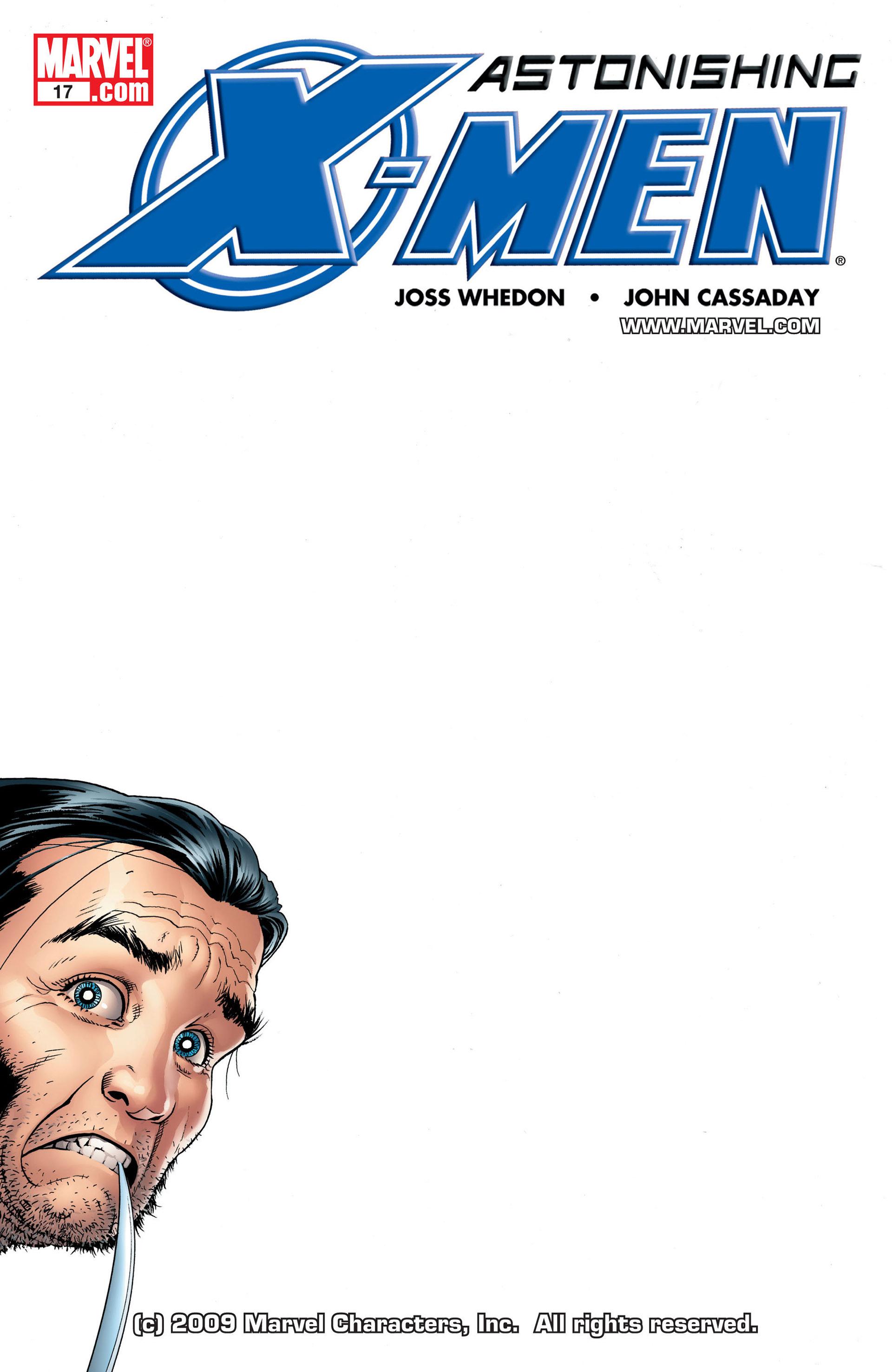 Read online Astonishing X-Men (2004) comic -  Issue #17 - 1