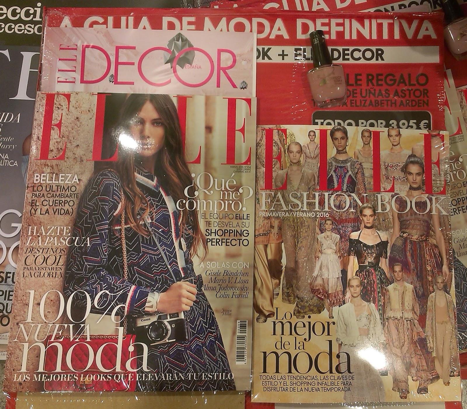 POTIS CORUÑA: Regalos de las revistas de Marzo