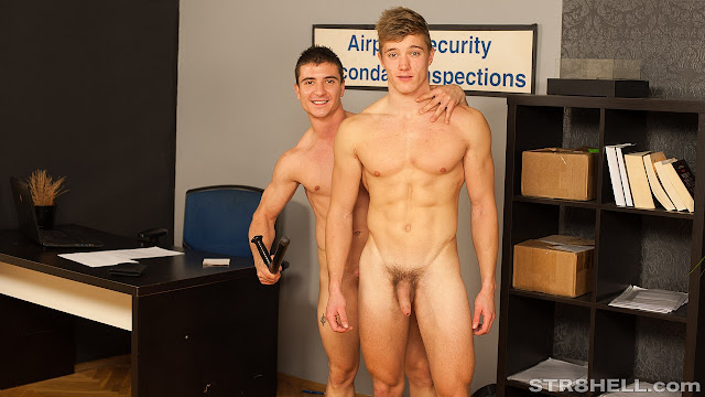 #Str8hell - Alan & Kamil RAW - Airport Security