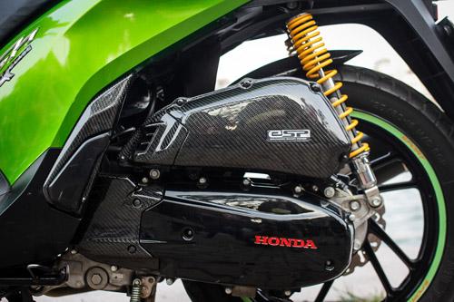 Sơn xe Honda SH màu xanh Z1000