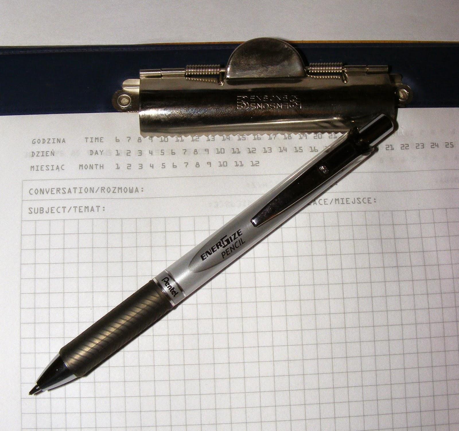 pentel mechanical pencil automatic