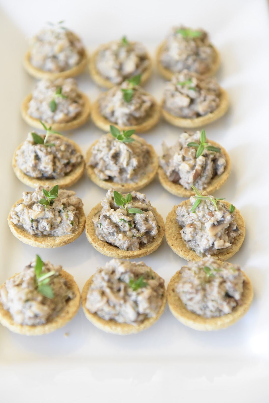 The effortless cook mushroom and thyme canap s for How to make canape shells at home