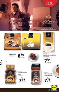CATALOG LIDL 7 ianuarie - 13 ianuarie 2019 promotii cafea capsule