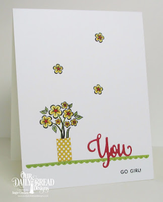 ODBD You Bless Me So Stamp-Die Duo, ODBD Custom Bitty Borders Dies, ODBD Custom Mini Tags and Labels Dies, ODBD Birthday Brights Paper Collection, Card Designer Angie Crockett
