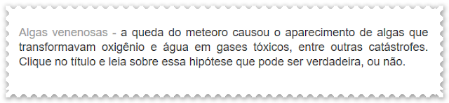 http://dinossauros-wwwdinossaurosecia.blogspot.com.br/2009/10/questoes-de-extincao.html