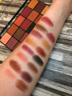 Newtrals 3 Eyeshadow Palette by Revolution Beauty (Another great affordable Fall palette)