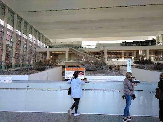 Taquillas del Museo de la Evolución Humana de Burgos